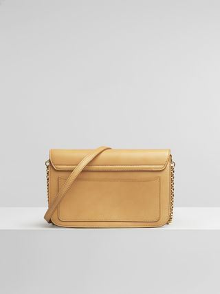 Chloé C clutch with chain
