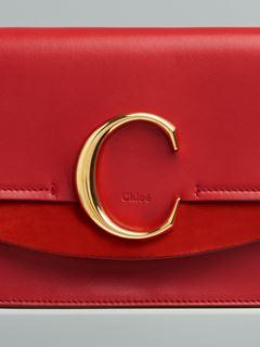 チェーン付き「Chloé C」クラッチ
