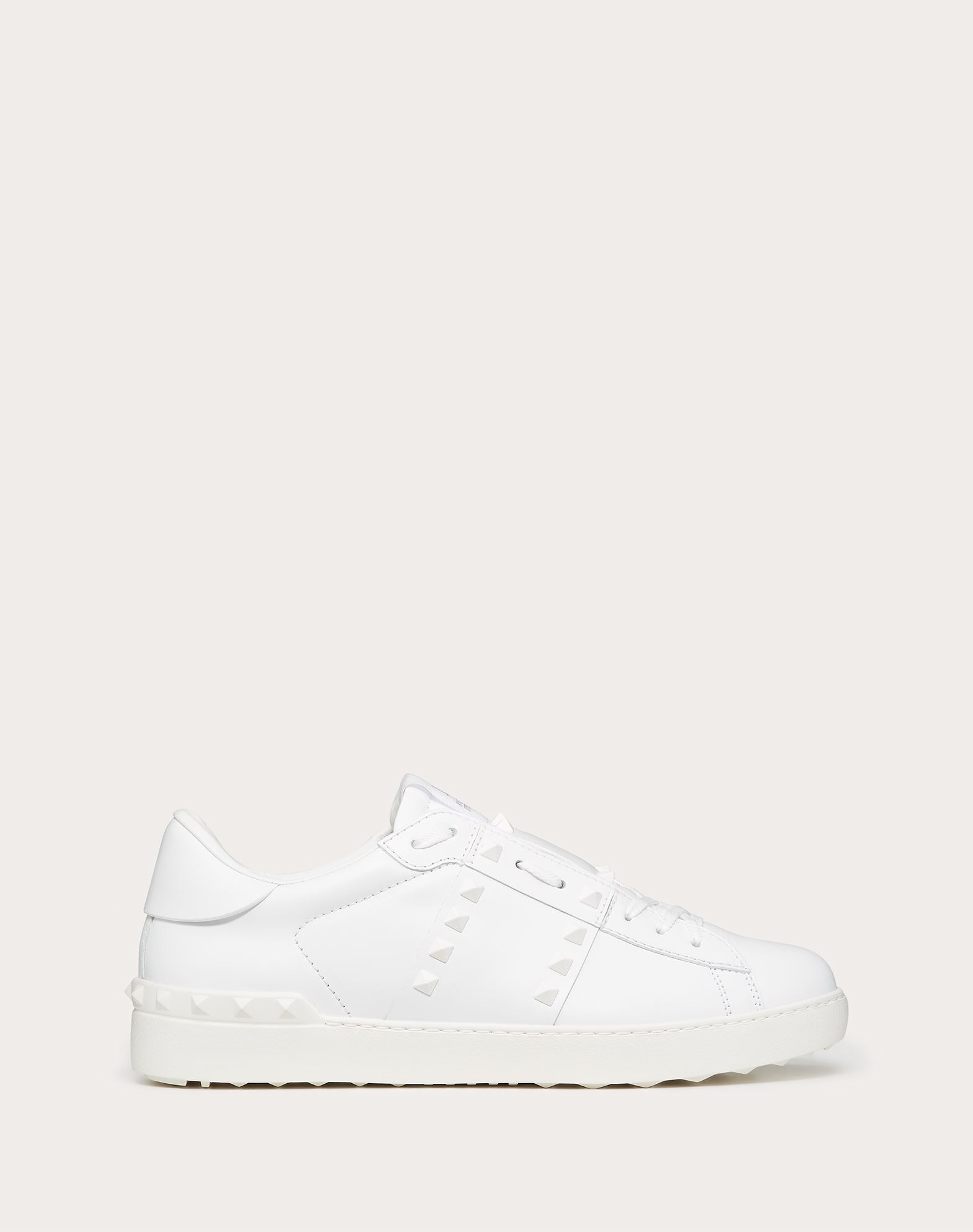 ROCKSTUD UNTITLED TONE-ON-TONE STUDDED SNEAKER