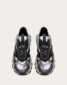 BOUNCE CAMOUFLAGE METALLIC TRAINER