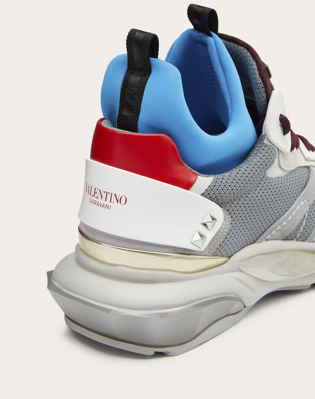 BOUNCE METALLIC TRAINER WITH VLTN LOGO