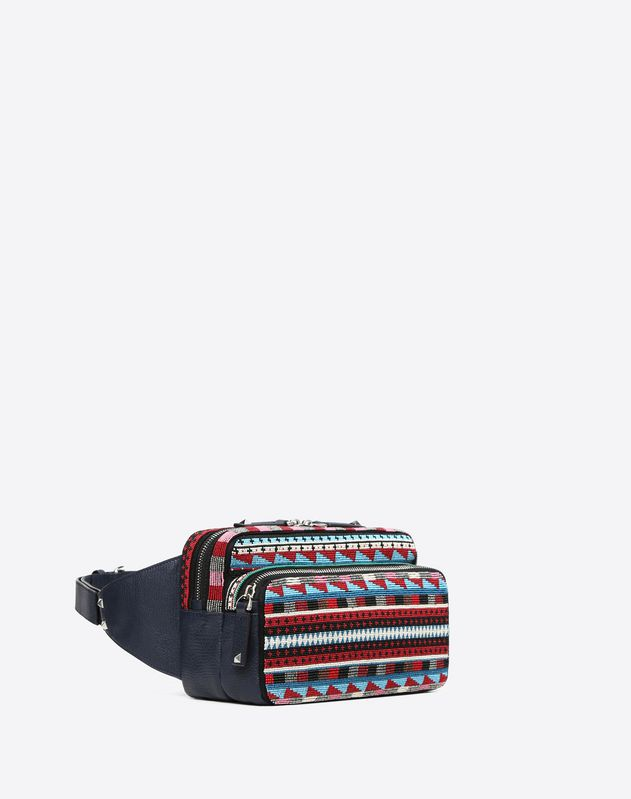 Embroidered Belt Bag