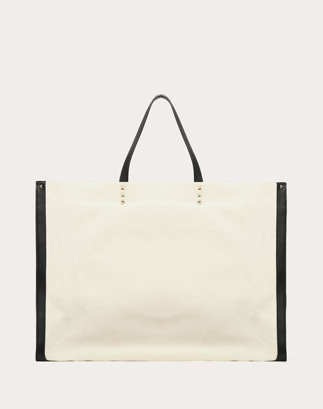 VLTN Canvas Shopping bag