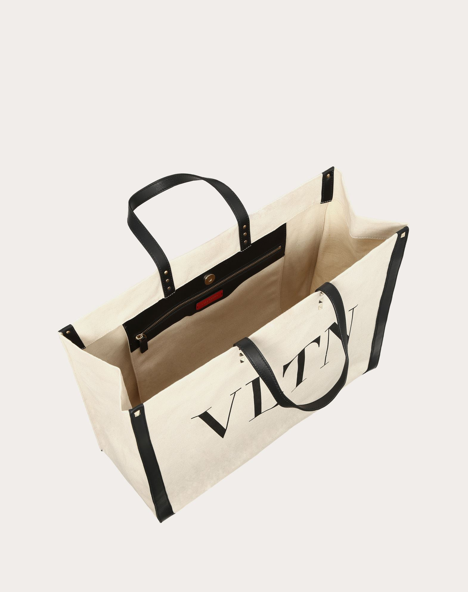 VLTN Canvas Shopping bag