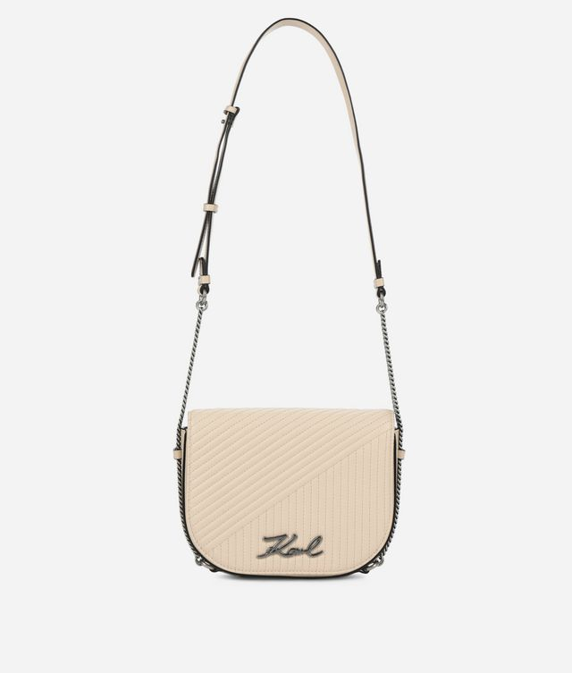 Karl Lagerfeld - K/Signature Quilted sac bandoulière - 1