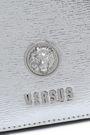 VERSUS VERSACE Metallic textured-leather clutch