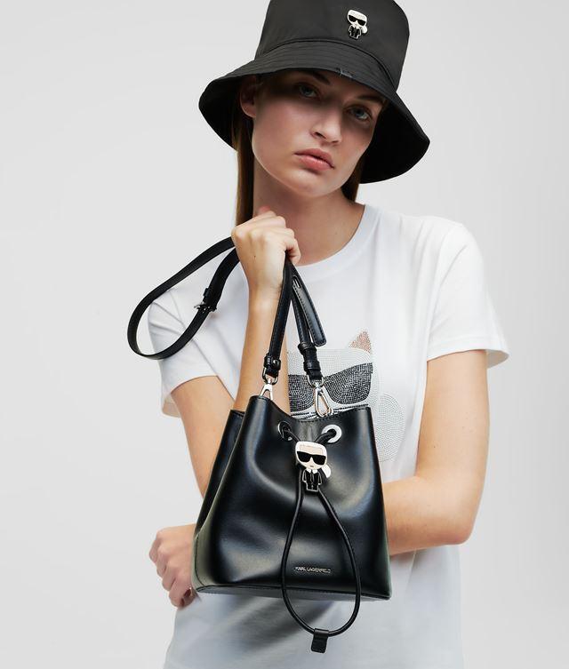 Karl Lagerfeld - K/Ikonik Bucket Bag - 1