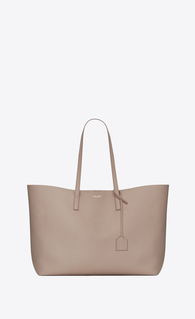Saint Laurent E/W shopping bag in soft leather
