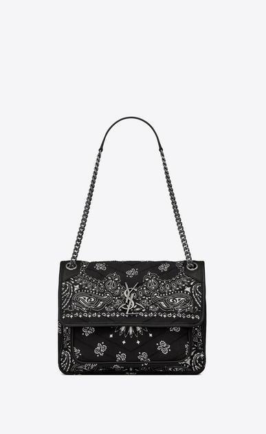 Medium Niki Bag In Bandana Fabric