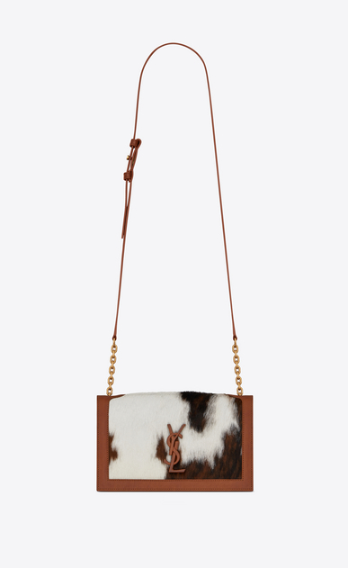 Cowhide book bag