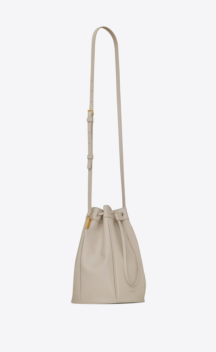 Saint Laurent TALITHA Medium Bucket Bag In Smooth Leather  9d25fd14cf7bc