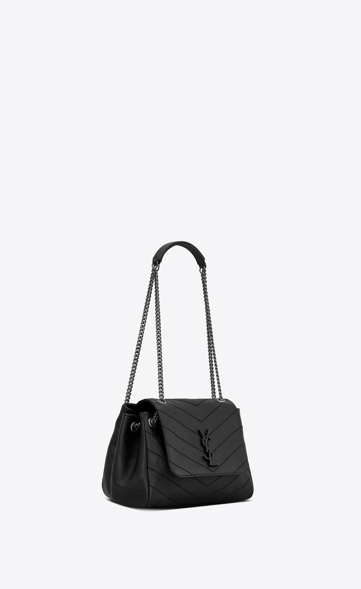 2bbf0d3f8b57 Saint Laurent NOLITA Small Chain Bag In Vintage Leather