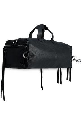 McQ Alexander McQueen Convertible leather weekend bag
