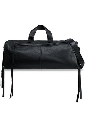 McQ Alexander McQueen Convertible leather weekend bag
