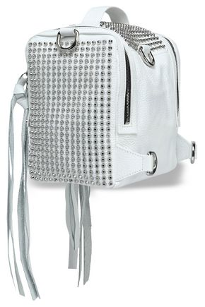 McQ Alexander McQueen Convertible studded leather backpack