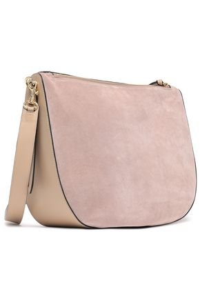 J.W.ANDERSON Leather and suede shoulder bag