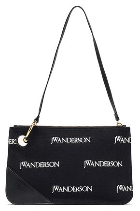 J.W.ANDERSON Embroidered canvas shoulder bag