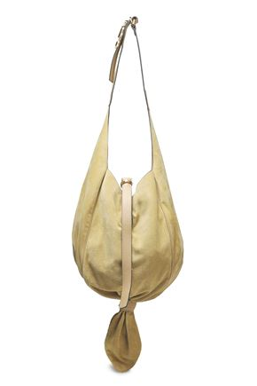 J.W.ANDERSON Knotted suede shoulder bag