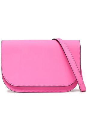 MARNI Coated-leather shoulder bag