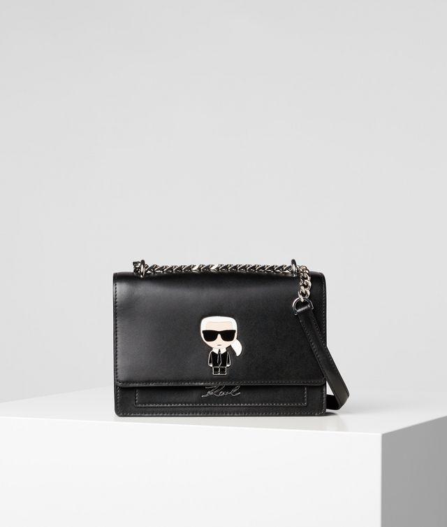 Karl Lagerfeld - K/Ikonik sac bandoulière à pin's en métal - 1