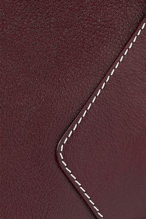 MARNI Textured-leather weekend bag