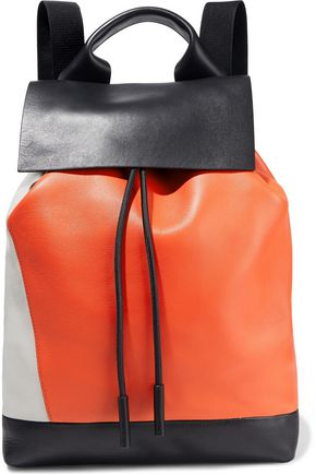 MARNI Color-block leather backpack