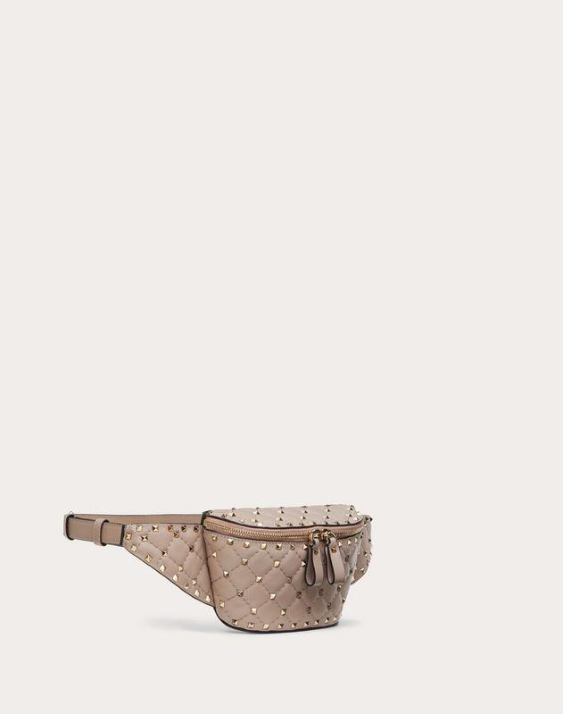 Gürteltasche Rockstud Spike aus Nappaleder
