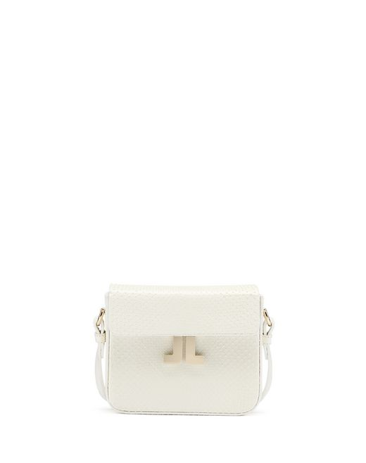 "MINI PYTHON LEATHER ""JL"" BAG - Lanvin"