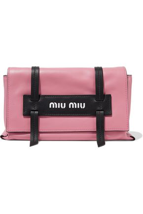 MIU MIU Grace two-tone leather shoulder bag