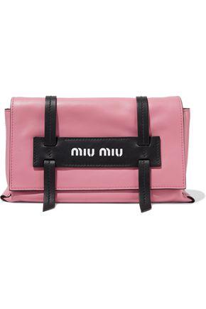 MIU MIU Grace two-tone leather shoulder bag 9ee6771f63991