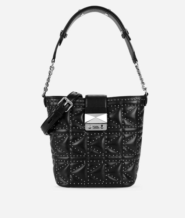 Karl Lagerfeld - K/Kuilted Bucket Bag mit Nieten-Details - 1