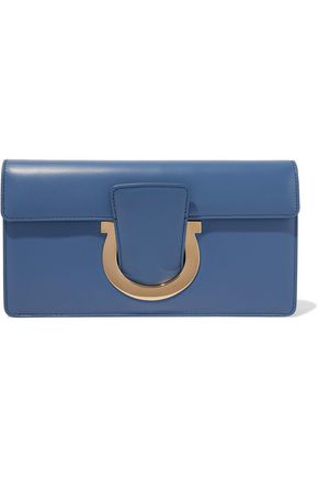 SALVATORE FERRAGAMO Leather clutch