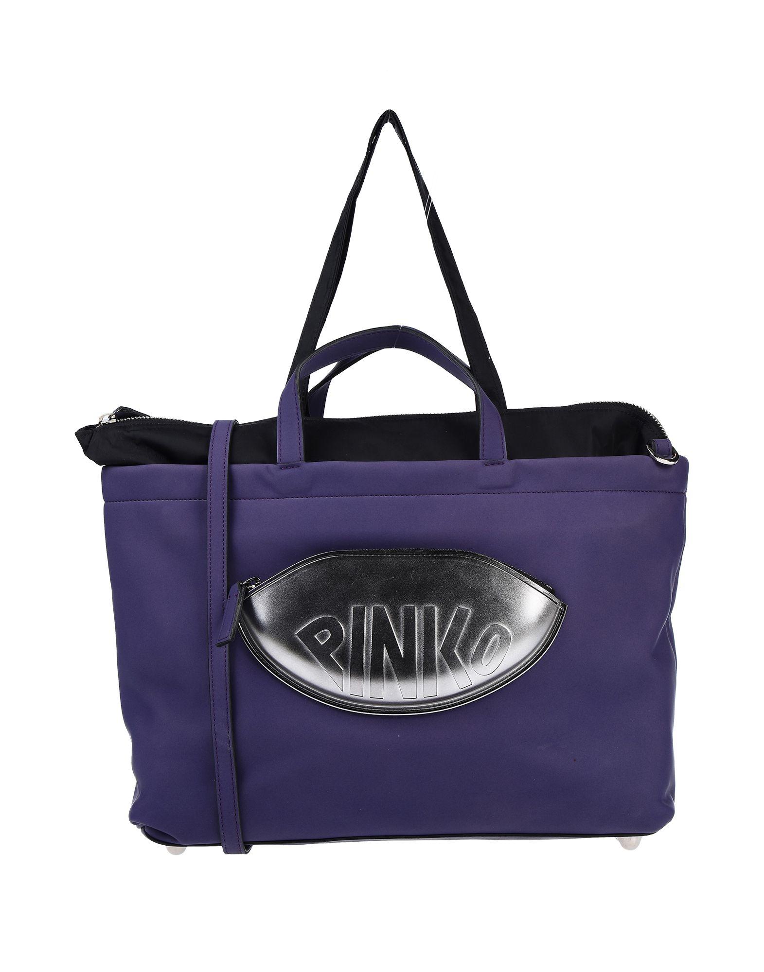 《送料無料》PINKO レディース メッセンジャーバッグ パープル 紡績繊維