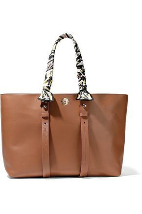 PAULA CADEMARTORI Embellished leather tote bag