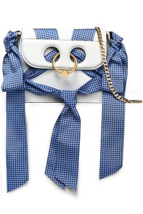 J.W.ANDERSON Pierce bow-embellished leather shoulder bag