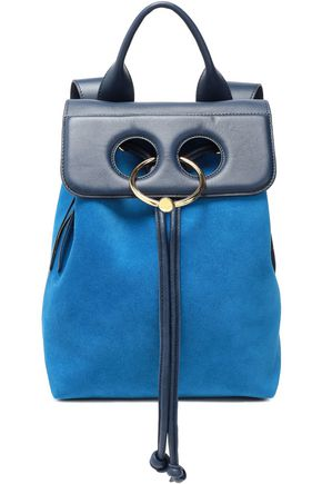 J.W.ANDERSON Pierce leather and suede backpack