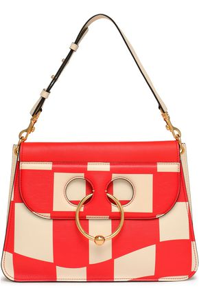 J.W.ANDERSON Checked leather shoulder bag