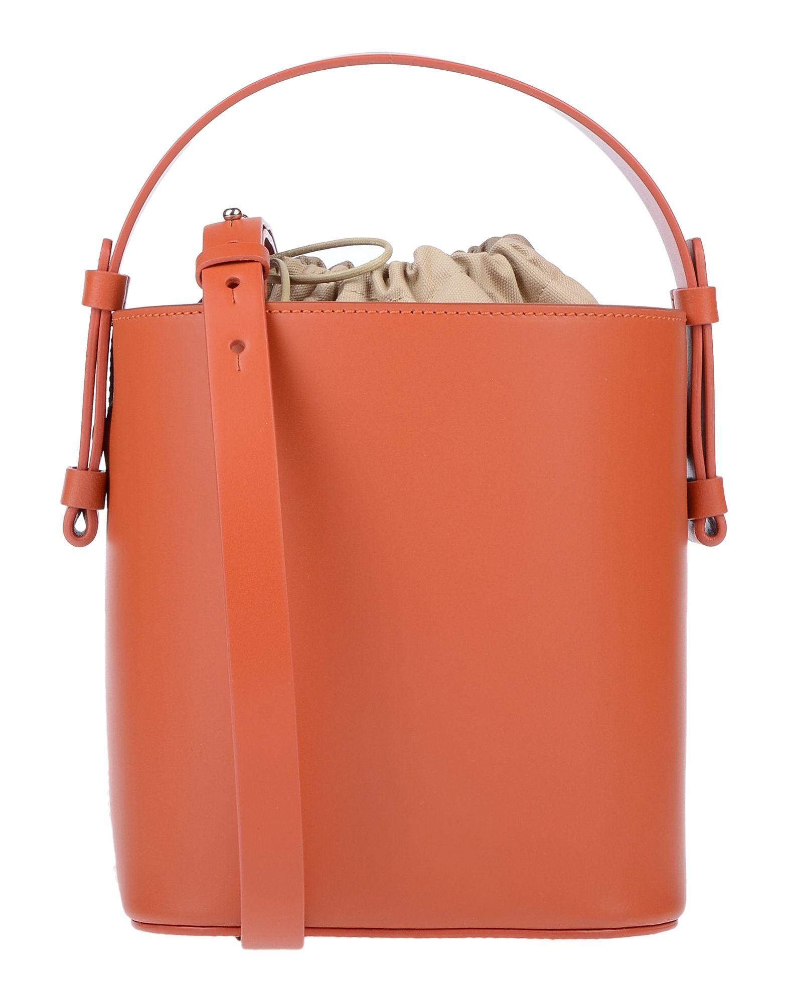 《セール開催中》NICO GIANI レディース ハンドバッグ 赤茶色 革 100%