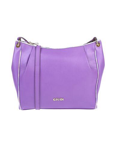 Фото - Сумку через плечо фиолетового цвета