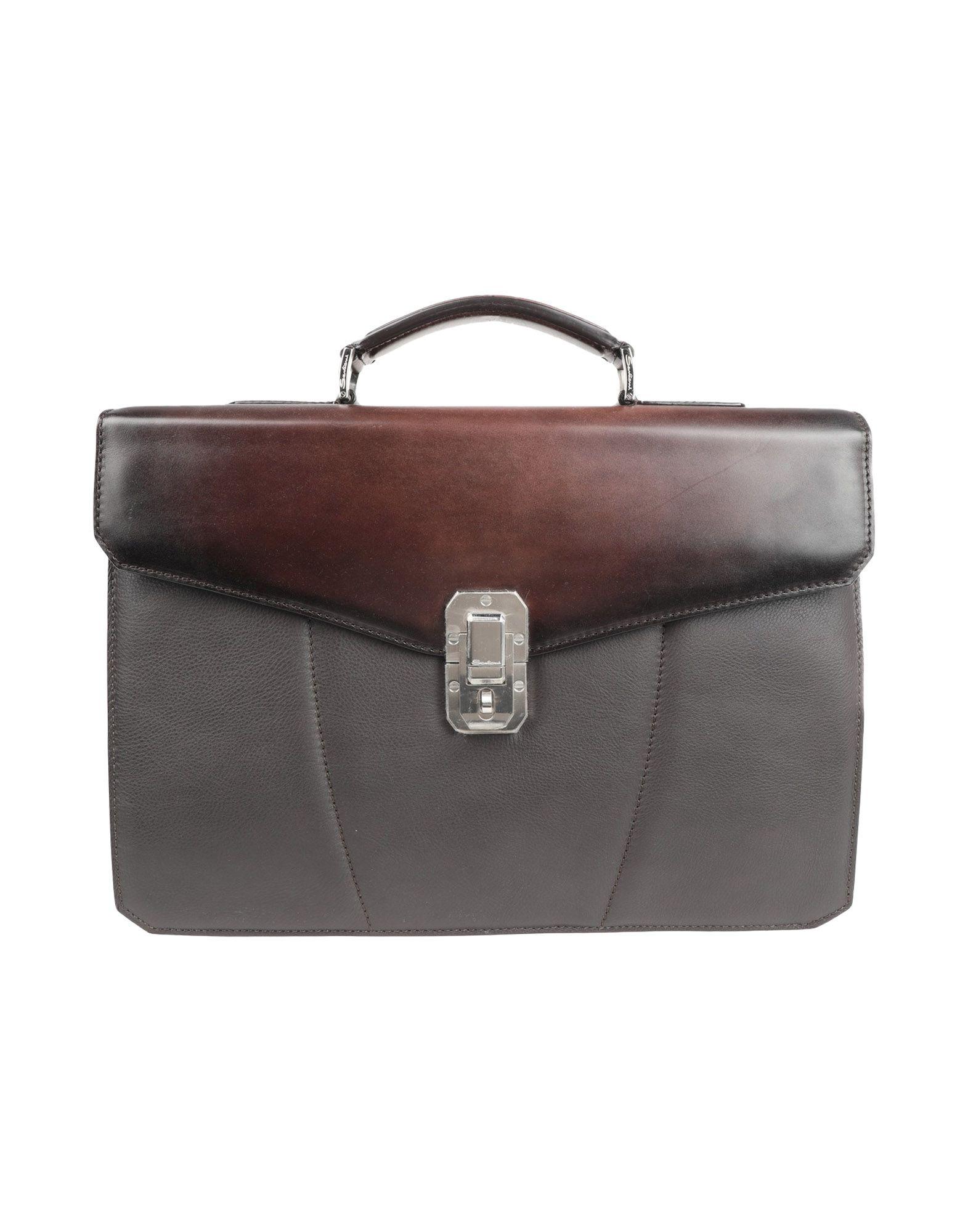 SANTONI Деловые сумки bag pitti сумки деловые