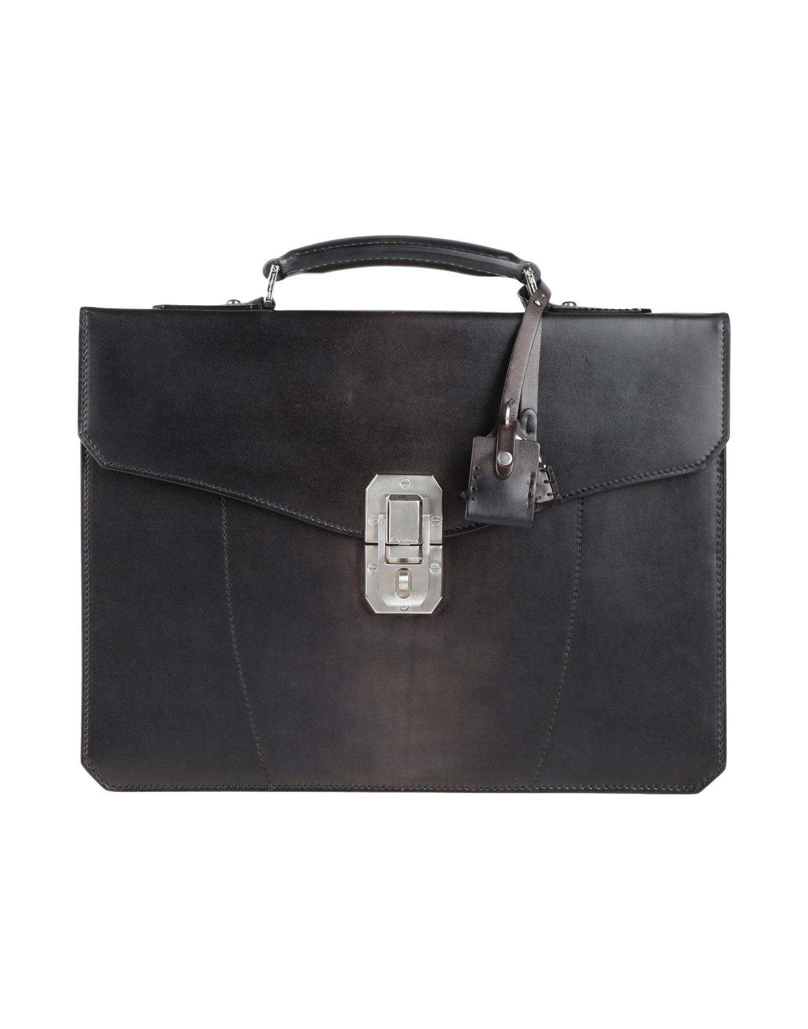 SANTONI Деловые сумки bag emilio masi сумки деловые