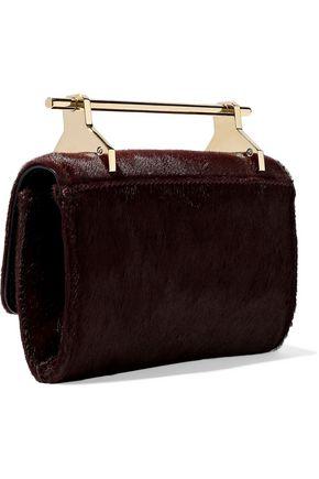 M2MALLETIER Fabricca calf hair shoulder bag