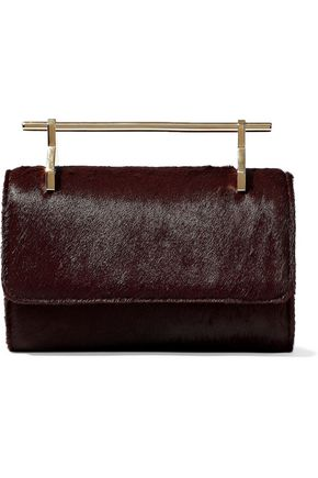 M2MALLETIER Fabricca calf hair shoulder bag