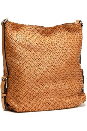 MICHAEL KORS COLLECTION Woven leather shoulder bag aa11d27332e14
