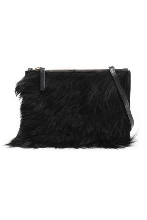 ATP ATELIER Lucca shearling shoulder bag