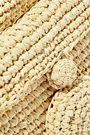 NANNACAY Sirikit toquilla straw shoulder bag
