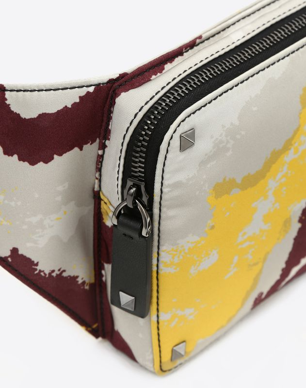 NYLON CAMOUART BELT BAG