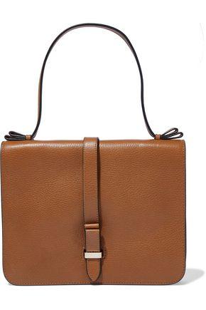 RED(V) Textured-leather shoulder bag