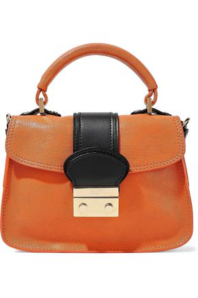 RED(V) Leather shoulder bag
