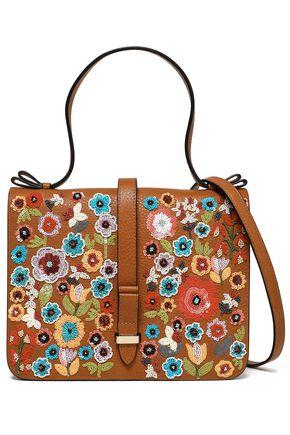 RED(V) Embellished leather shoulder bag